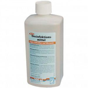 Backs Desinfektions-Mittel 500 ml, (desinfetante altamente eficaz para o pombal)