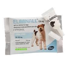 Zoetis Eliminall Cão 10-20 Kg Tratamento de infestações por pulgas e carraças