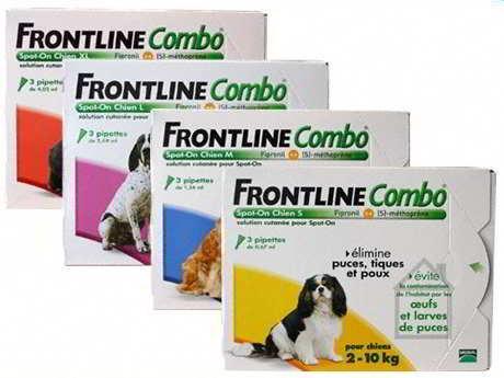 Merial Frontline Combo Cão 10-20 Kg (3 Pipetas) Antiparasitário