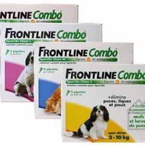 Merial Frontline Combo Cão 2-10 Kg (3 Pipetas) Antiparasitário