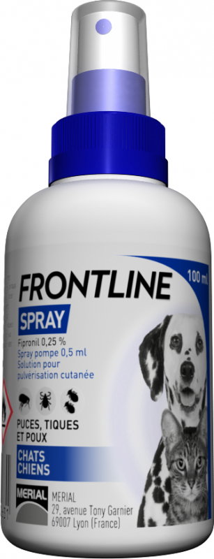 Merial Frontline Spray 100 ml (Anti-Parasitário)