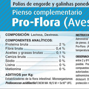 All-Master Pro-Flora (Aves) 100g