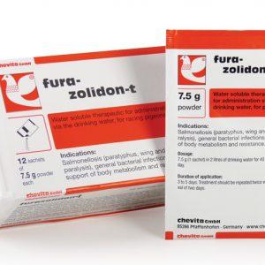 Chevita Furazolidon+ 1 carteiras (infecções bacterianas) de Chevita