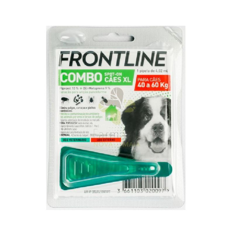 Merial Frontline Combo Cão 40-60 Kg (1 Pipeta) Antiparasitário