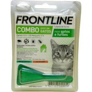 Merial Frontline Combo Gato/Furão (1 Pipeta) Antiparasitário
