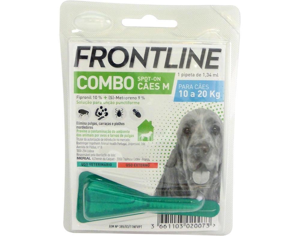 Merial Frontline Combo Cão 10-20 Kg (1 Pipeta) Antiparasitário