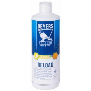 Beyers Reload -Aminoácidos essenciais, electrólitos, minerais e oligoelementos principais 1 Litro
