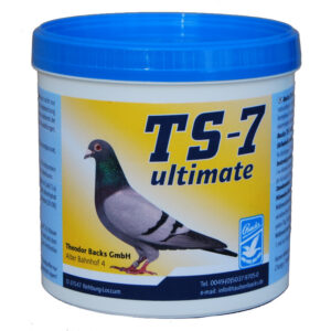 Backs TS 7 Ultimate 500gr, (probiótico enriquecido para pombos-correio)